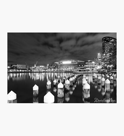 Docklands BW Photographic Print