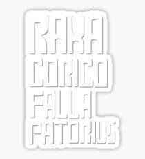Raxacoricofallapatorius Sticker