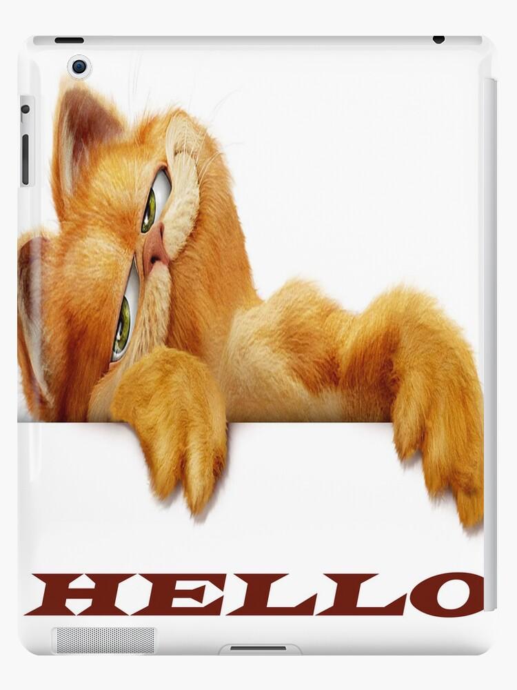 Garfield for ipad  by crazydesigner