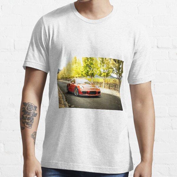 Porsche GT3 RS T-Shirt Multicolors District Premium Tee Shirt GT2 RS Carrera 911