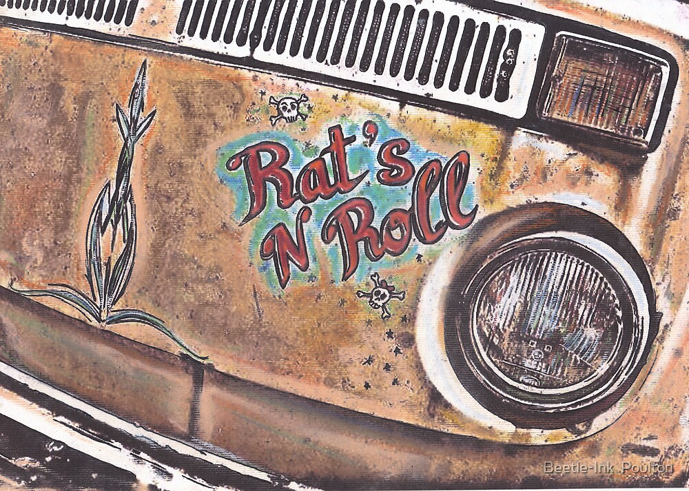 Rat N Roll by Beetle-Ink  Poulton