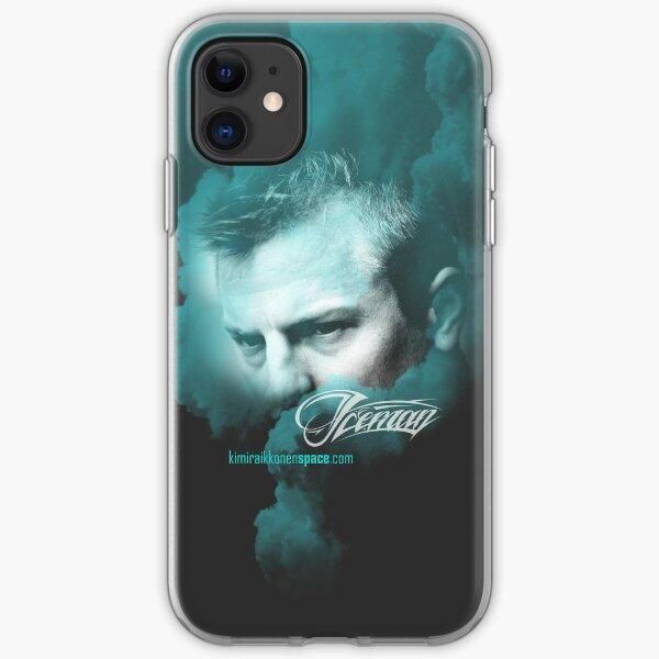 Kimi Raikkonen - iPhone Cover, Iceman Face iPhone Soft Case