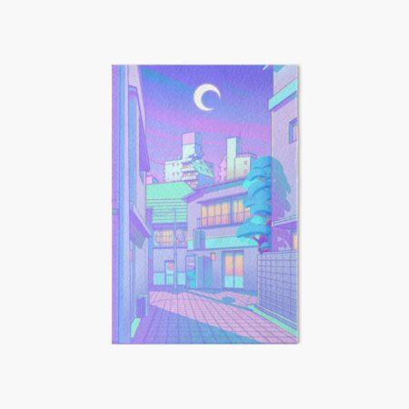 Night in Utopia Art Board Print