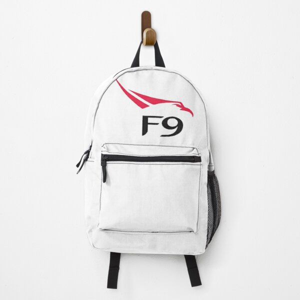 SpaceX Falcon 9 Logo  Backpack