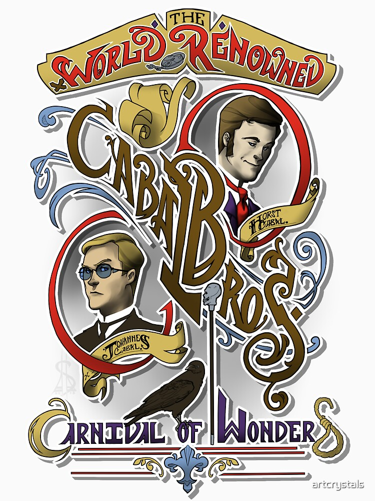 The World Renowned Cabal Bros Carnival of Wonders by artcrystals