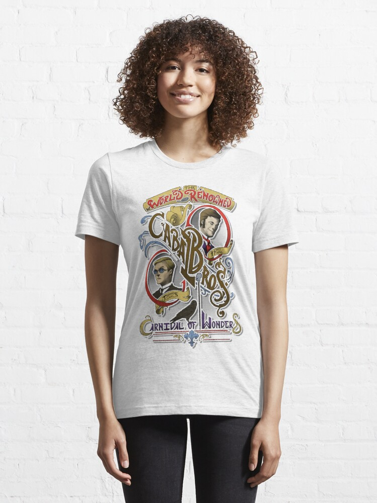 Alternate view of The World Renowned Cabal Bros Carnival of Wonders Essential T-Shirt