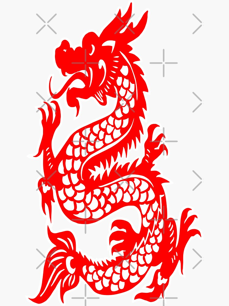 Red Chinese Dragon by carlarmes