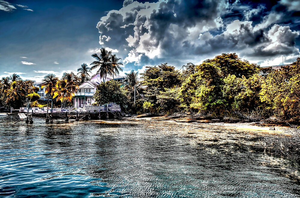 Old Beach House in Nassau, The Bahamas by Jeremy Lavender Photography