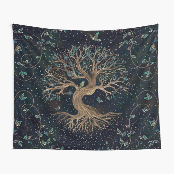 Tree of Life - Yggdrasil  Tapestry