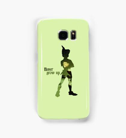 Never Grow Up Green Samsung Galaxy Case/Skin