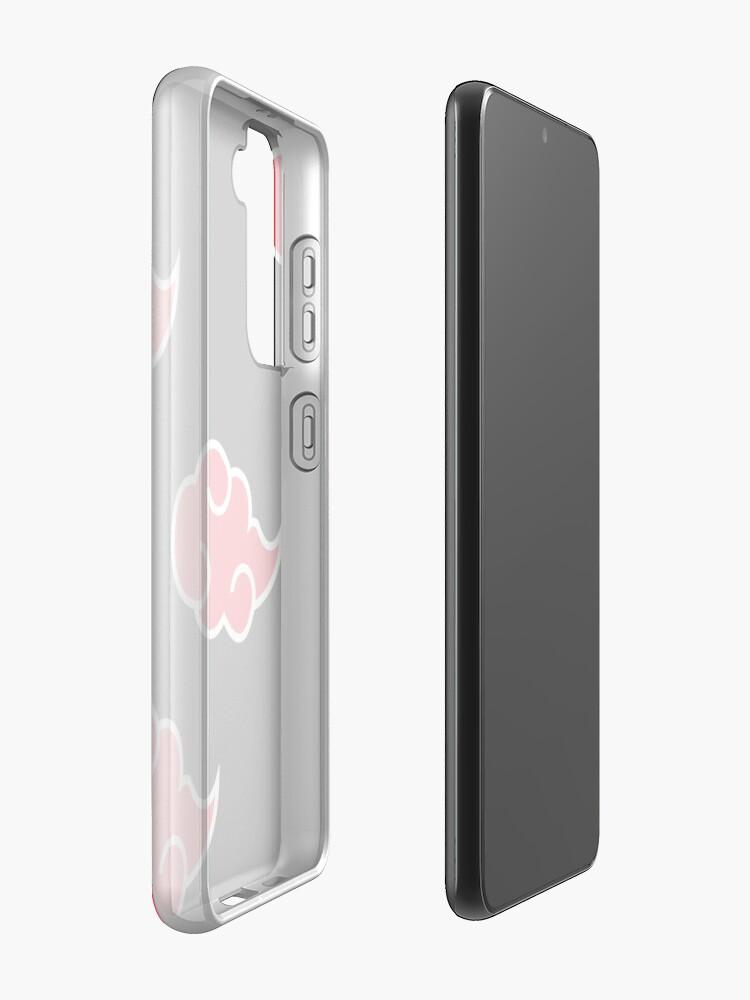 Alternate view of Anime Red Cloud n.a.r.u.t.o Case & Skin for Samsung Galaxy