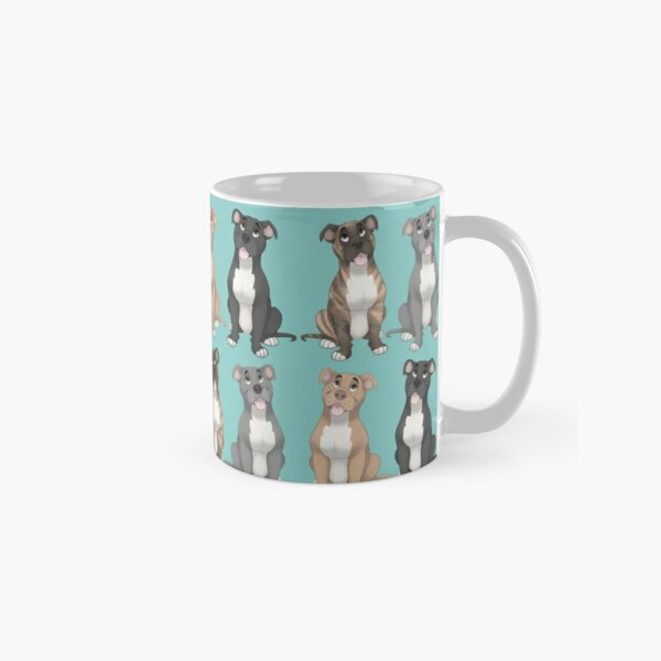 Pitbull pattern  Classic Mug
