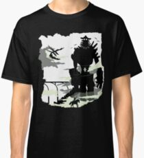 Silhouette of the Colossus white Classic T-Shirt