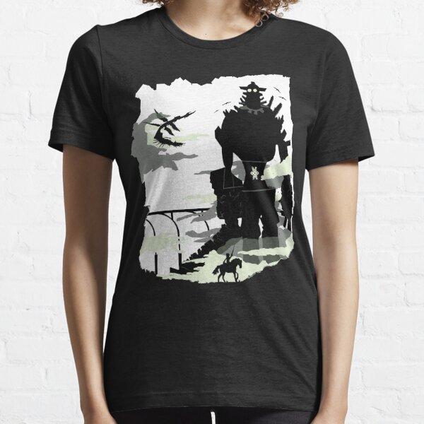 Silhouette du Colosse blanc T-shirt essentiel