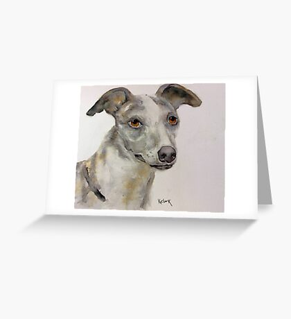 """Trixie"" Greeting Card"