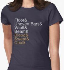 Women's Gymnastics Events Women's Fitted T-Shirt