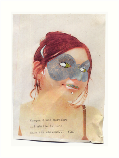French Lover Mask by edend