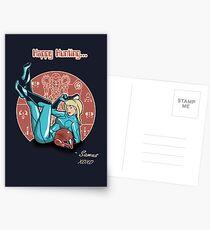 Power-up Pin-up- Metroid Shirt Postcards