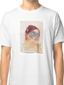 French Lover Mask Classic T-Shirt