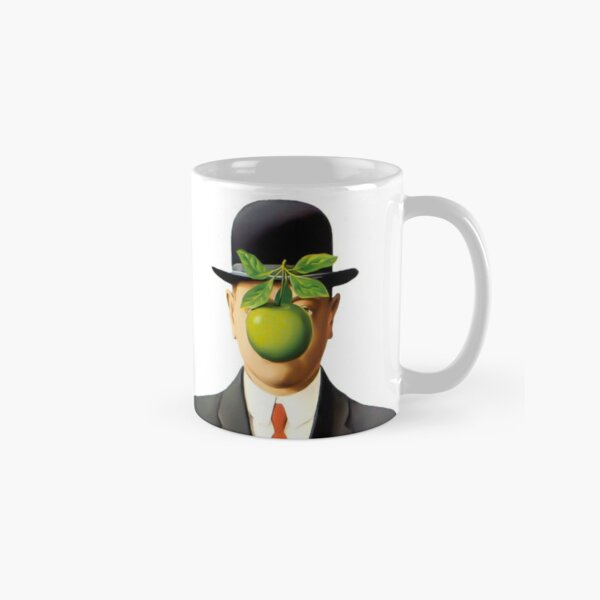 Rene Magritte The Son of Man, 1964 Artwork, Tshirts, Posters, Prints, Bags, Men, Women, Youth Classic Mug