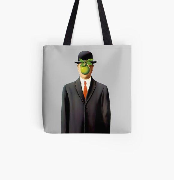 Rene Magritte El Hijo del Hombre Bolsa estampada de tela