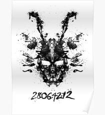 Imaginäres Tintenkleks-Donnie Darko Shirt Poster