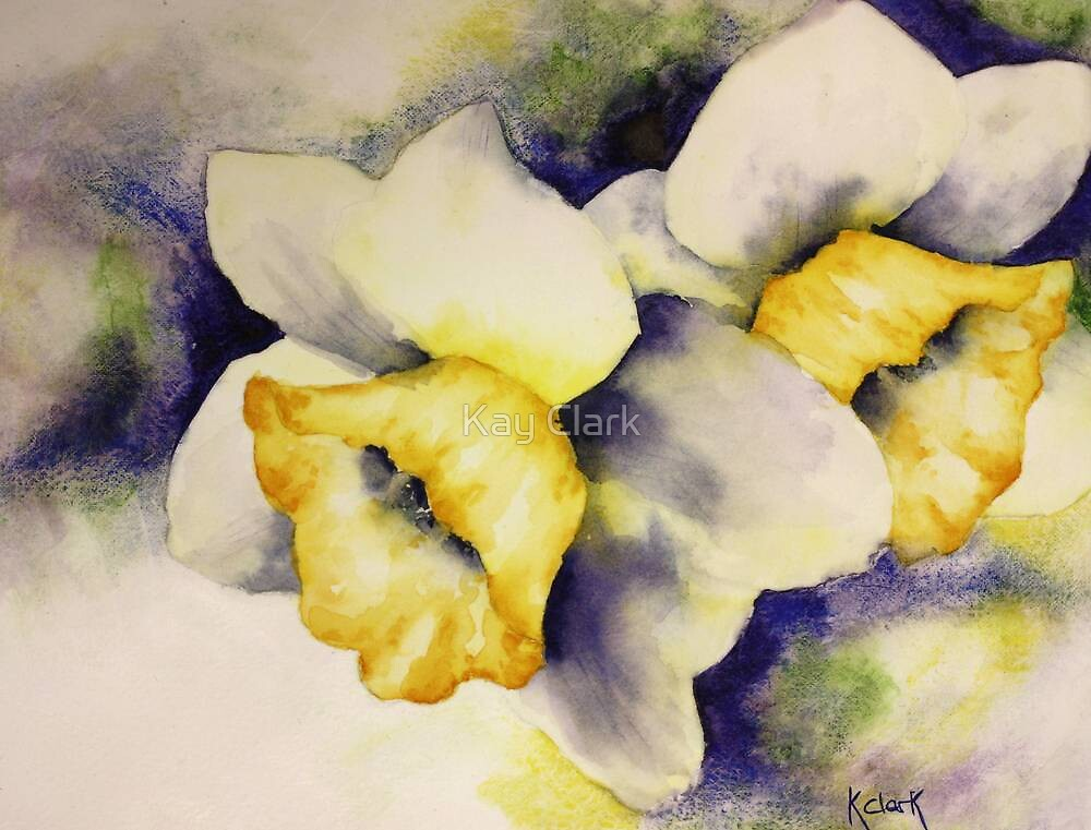 """""""Daffodils in Spring"""" by Kay Clark"""