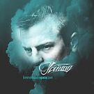 Iceman Face - Poster/cards - Kimi Raikkonen by evenstarsaima