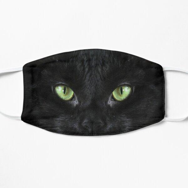 Black Cat Flat Mask