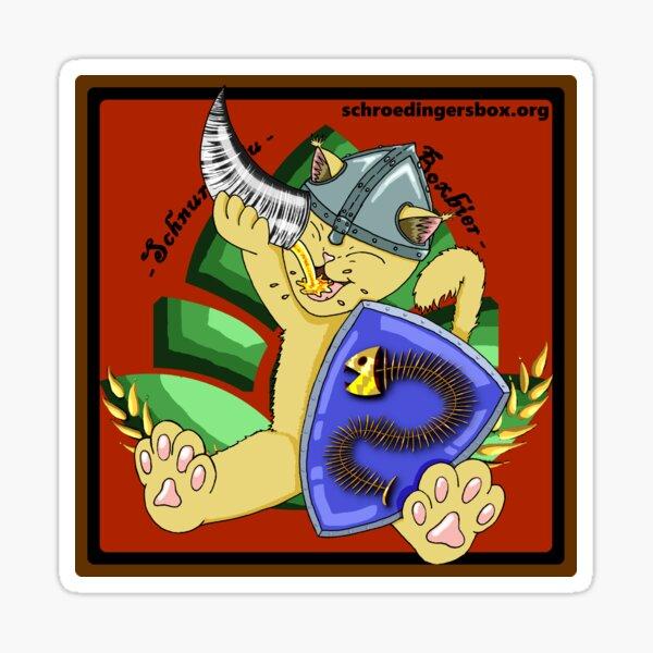 Katze 'Goldi' Version 1 Sticker