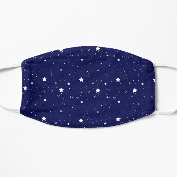 stars and circles pattern Flat Mask