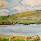 Dingle Bay, Kerry Ireland, Panel 1  by Caroline  Hajjar Duggan