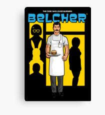The Cook Who Loved Burgers Canvas Print