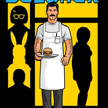 The Cook Who Loved Burgers by LL3Dsn