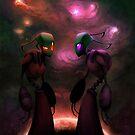 Invader Zim Fan Art - Almighty Tallest Red & Purple by MylaFox