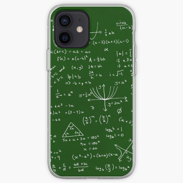 Algebra Math Sheet iPhone Soft Case