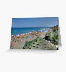 Praia de Kamiros Greeting Card