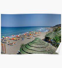 Praia de Kamiros Poster