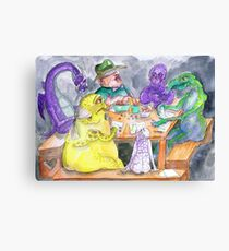 The roleplaying session Canvas Print