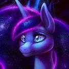 My Little Pony Fan Art - Princess Luna by MylaFox