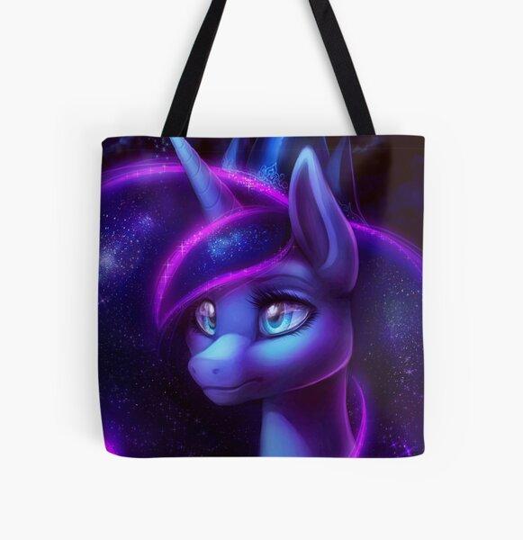 My Little Pony Fan Art - Princess Luna All Over Print Tote Bag