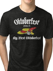 Oktoberfest 2013 My First Oktoberfest Tri-blend T-Shirt