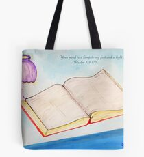 Your Word is a Light for my Path Tote Bag
