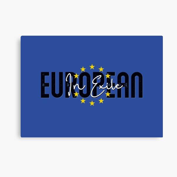 European in Exile Canvas Print