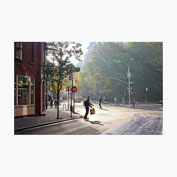 Skateboard Commuter Photographic Print