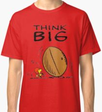 Woodstock Peanuts Think Big Classic T-Shirt