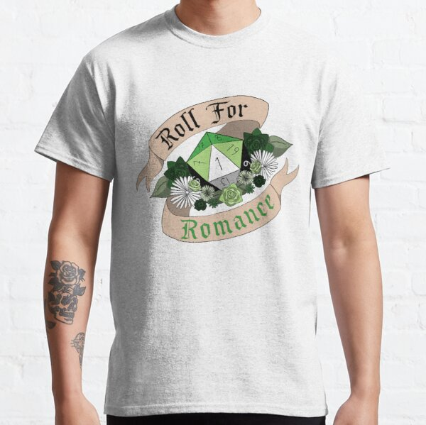 Roll For Romance - Aromantic Pride [Crit Fail] Classic T-Shirt
