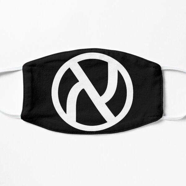 Jewish Anarchist Symbol (White) Flat Mask