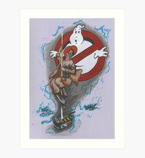 Ghost Belle Art Print