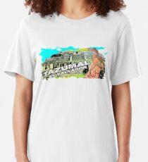Tazumal El Salvador Ruta Maya Slim Fit T-Shirt